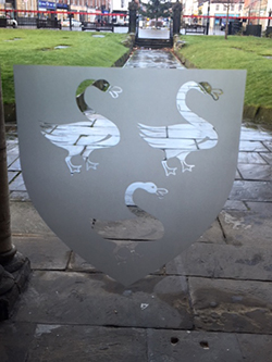 Selby Abbey Swans