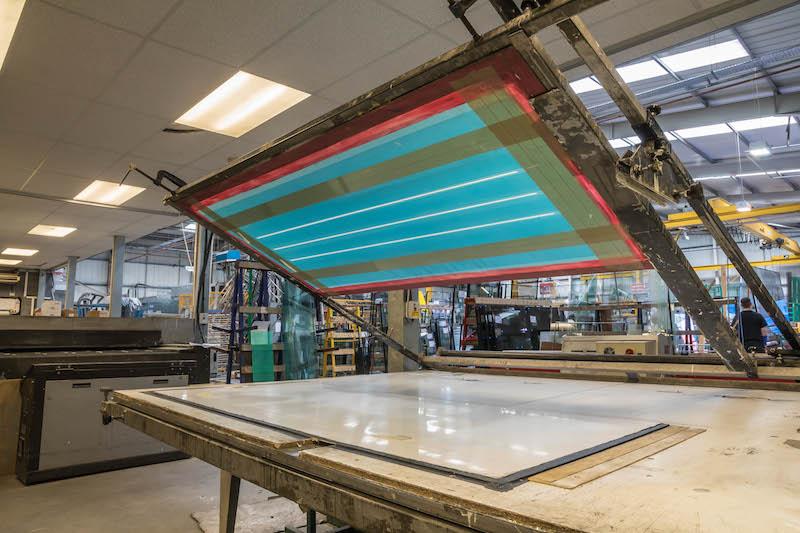 Glasscraft – Screen Printing