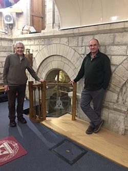 Selby Abbey bell ringers
