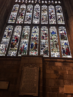 Selby Abbey Stained glass